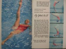 1956 TV Guide(ESTHER  WILLIAMS/TENNESSEE ERNIE FORD/RONNIE BURNS/JAYE P. MORGAN)