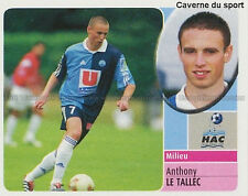 ANTHONY LE TALLEC # LE HAVRE HAC LIVERPOOL.FC STICKER  PANINI FOOT 2003 ~