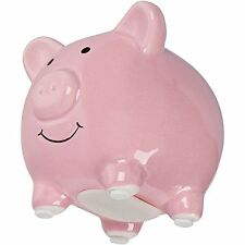 Darling Baby Ceramic Piggy Bank Pig Pink