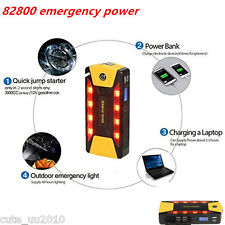 High Capacity 82800mAh 4USB Car Jump Start Emergency Charger Power Bank Battery