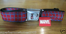 The Amazing Spider-Man Buckle-Down Belt Marvel Comics ADJUSTABLE!! NEW! - WEBS