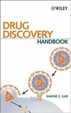 Drug Discovery Handbook by . 0471213845 Hardcover Book. Very Good Cond.
