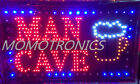 LED NEON MAN CAVE Sign for SHOP, HOME,BUSINESS SIZE: 55CM X 33CM