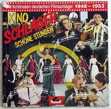 LP (s) - KINO SCHLAGER Schöne Stunden - Deutsche Filmschlager 1948 - 1953 - 2LP
