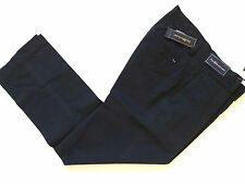 New Ralph Lauren Polo Cotton Faded Black Suffield Fit Dress Pants 38 x 30