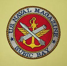 U.S. NAVAL MAGAZINE - SUBIC BAY - MILITARY PATCH