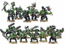 Warhammer 40k Space Ork Nobz and Boyz from Battle for Vedros
