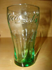 COKE***16oz.***Coca-Cola***Genuine Glass***Green Tint!