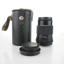 M42 Carl Zeiss Sonnar  MC 3.5/135 Objektiv / lens + case