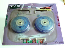 Scooter Wheels Kit with Lights in Wheels 100mm ST-1100