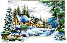 WINTER TIME OF THE YEAR  beaded embroidery DIY beading kit  NEW  UKRAINE