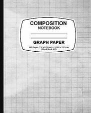 Graph Paper Notebook : Black and White Cover,Graph Paper Notebook, 7. 5 X 9....