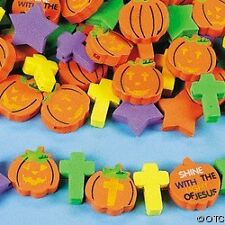 40 Fall Harvest Shine with Jesus Fun Foam Beads Child