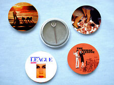 The Human League Set Of Four Badges Heaven 17 Mute Depeche Mode Yazoo Soft Cell