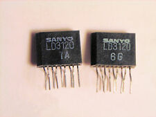 "LD3120  ""Original"" SANYO  9P ZIP IC  2 pcs"