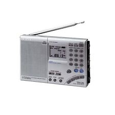 Sony icf-sw7600gr WORLD BAND AM FM Radio Digitale (made in Japan) ORIGINALE