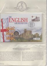 THE ENGLISH £1 COMMEMORATIVE COIN COVER, LIMITED EDITION DATED 22 JUN 97. M 3625