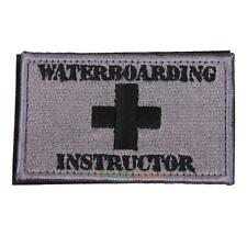 Waterboarding Instructor Patch Tactical Embroidered Military Combat Patc PRO#
