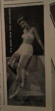 1946 Dove Skin Undies womens Underwear Bra Loveliness Original Ad