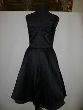 LADIES  FRENCH CONNECTION  LITTLE BLACK DRESS SIZE UK10 NEW RRP £165