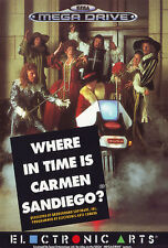 ## SEGA Mega Drive - Where in Time is Carmen Sandiego - TOP ##