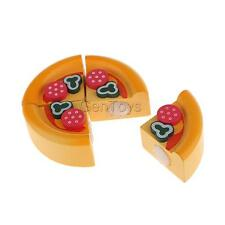 Vivid Pretend Play Cut Food Wooden Sticky Cake Children Toy Desk Decoration