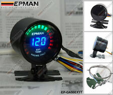 "Epman RACING 52MM 2 ""ANALOGICO DIGITALE LED dei gas di scarico TEMP Gauge Meter Sensore Con"