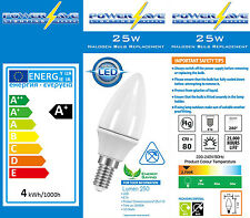 6x 3,5 W LED Risparmio Energetico Lampadina Piccola Edison A Vite Ses E14 25W / 40W s8226