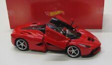 Ferrari LaFerrari ( 2013 ) rot schwarz / Hot Wheels 1:18