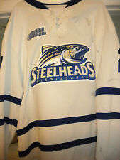 2013-14 MISSISSAUGA STEELHEADS NICK ZOTTL GAME WORN HOCKEY JERSEY-LOA