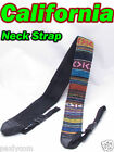 Camera Neck Shoulder Strap Digital Canon DSLR SLR Nikon EOS Rebel 550D SX50 6D