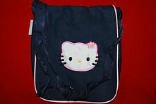 Embroidered Hello Kitty Shoulder Cross Body Bag Purse Tote Blue Pink   Free Ship