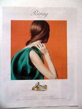 PUBLICITE-ADVERTISING :  POIRAY Bagues  2014 Bijoux