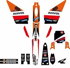 OSET 20.0 Trials bike graphic kit - name number included rep