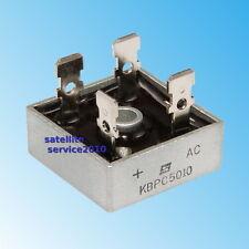 Ponte di Diodi 50A 1000V KBPC 5010 - Raddrizzatore Bridge Rectifier KBPC5010