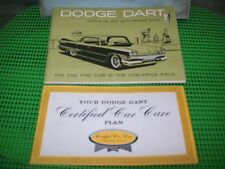 NOS 1960 DODGE DART NEW CAR OWNERS PACKET MOPAR