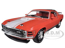 1970 FORD MUSTANG MACH 1 428 CALYPSO CORAL 1/24 BY M2 MACHINES 40300-36A-02