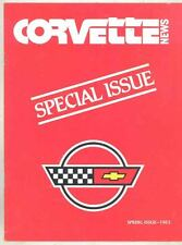 Spring 1983 Corvette News Brochure 1984 Special Introduction Issue wt3692