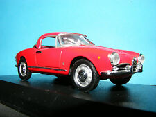 Alfa Romeo Giulietta Spyder in Rosso Red. Details Cars by Corgi 1:43 Scale