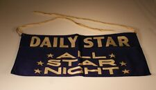 """Vintage"""" Daily Star""""  Newstand Paper Boy Money Arpon"""