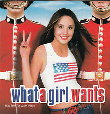 What A Girl Wants-2003-Original Movie Soundtrack-15 Track-CD