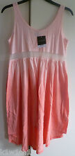 BNWT TOPSHOP Dip-Dye Mesh Panel Chuck On Ombre Hi Lo Dip Hem Dress - Size 12