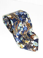 GIVENCHY 100% Silk Floral Print - Dessin Exclusif 0234 NECKTIE NEW