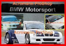 """53"""" BMW Motorsport Windshield Sunstrip Decal Sticker E30 E36 E46 E90 E92 F30 F40"""