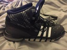 Adidas basketball shoes black and white size 11 mens