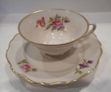UPSALA EKEBY KARLSKRONA CUP & SAUCER SET FLORAL PATTERN MADE IN SWEDEN set #51