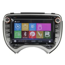 AUTORADIO GPS NISSAN MICRA 7 POLLICI HD USB SD DVD MP3 COMANDI VOLANTE BLUETOOTH