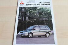 137587) Mitsubishi Space Runner Prospekt 09/1996
