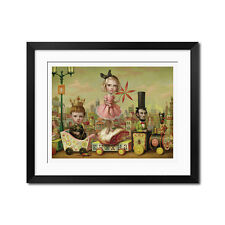 The Meat Train Gothic Surreal Poster Print
