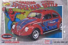 VW Käfer ( Spiderman ) Plastik Bausatz / 1:24